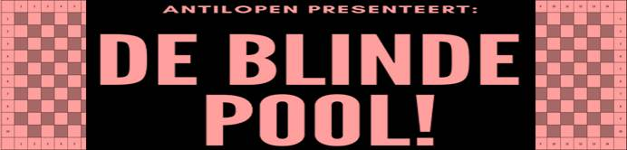 Blinde pool is gewonnen